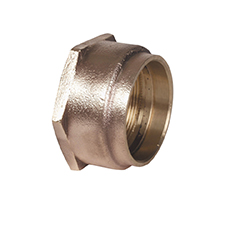 Conex Delbraze FEMALE STRAIGHT CONNECTOR DB703