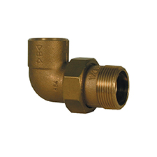 Conex Delcop End Feed FEMALE BENT UNION CONNECTOR DC70763
