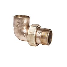 Conex Delcop End Feed MALE BENT UNION CONNECTOR DC70764