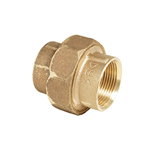 Conex Series 3000 FEMALE STRAIGHT UNION COUPLER (FLAT) 3330