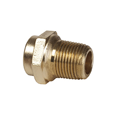 Conex Triflow Solder Ring STRAIGHT MALE CONNECTOR TP3