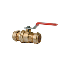 Conex Valves LEVER BALL VALVE WITH STANDARD LEVER 1201