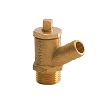 Conex Valves MALE DRAINING TAP S742