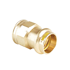 >B< Press Gas STRAIGHT FEMALE CONNECTOR PG2