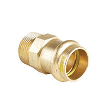 >B< Press Gas STRAIGHT MALE CONNECTOR PG3