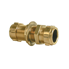 Conex Compression STRAIGHT COUPLER BULKHEAD 301BH