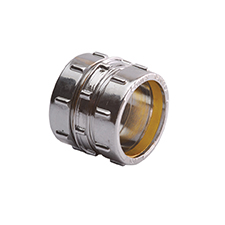 Conex Compression Chrome Plated STRAIGHT COUPLER 301CP