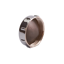 Conex Compression Chrome Plated STOP END S323CP