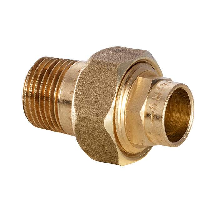 Series 4000 UNION FLAT FACE MALE THREAD 4331G