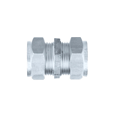 Conex Compression SX STRAIGHT COUPLER CHROME SX301CP