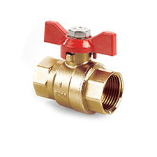 Quarter Turn Valves QT Ball Valve DZR PN25 F x F Tee 1205
