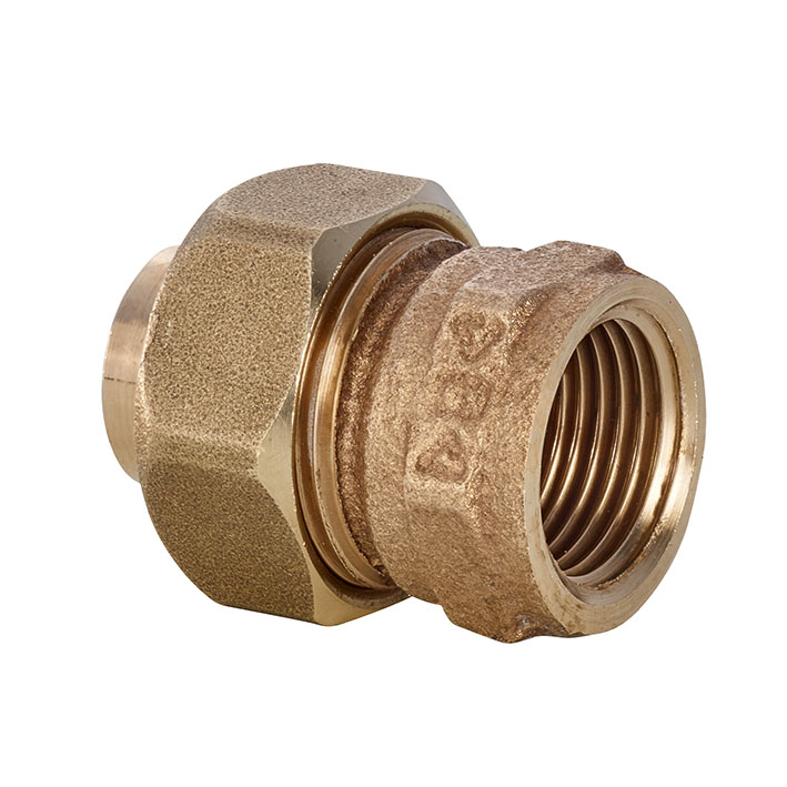 Series 4000 UNION FLAT FACE FEMALE THREAD 4330G