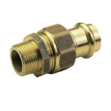 >B< Press MALE STRAIGHT UNION CONNECTOR P4331G