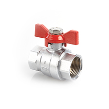 Check Valves QT Ball Valve Brass PN25 F x F Short Series Tee 1265