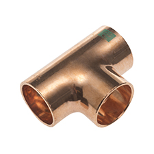 K65 Copper EQUAL TEE K5130