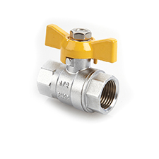 QT Ball Valves QT Ball Valve Brass Gas, PN25 1275