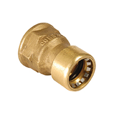 Conex Push-Fit STRAIGHT FEMALE CONNECTOR 8270G