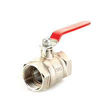 Quarter Turn Valves QT Ball Valve Brass PN25 F x F Short Series Lever  1260