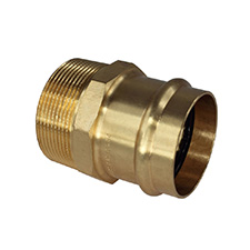 Conex Bänninger >B< Press Water Coupling - Male Coupling - Male