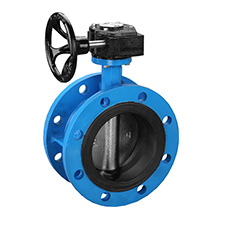 Industrial Butterfly Valves Flange Concentric Butterfly Valves  PN10/16 BZGX