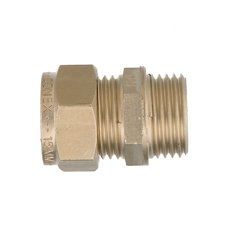 Conex Compression SX MALE STRAIGHT COUPLER SX302