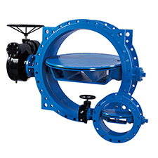 Industrial Butterfly Valves Flange Butterfly Valves (Ductile Iron+EPDM Disc), Gear Operated, PN10  BFGX