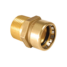 Conex Push-Fit STRAIGHT MALE CONNECTOR 8243G