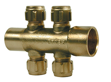 Conex Compression Manifolds MANIFOLD 4 PORT MALE 45584